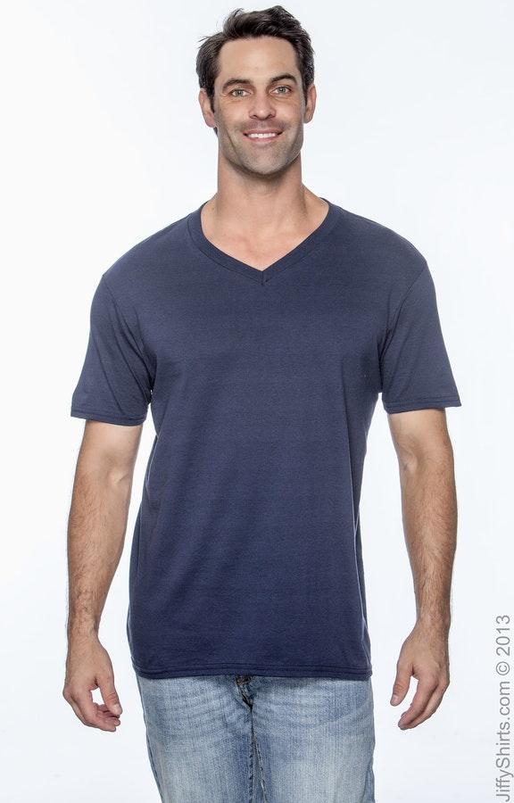 ef7a343ff4b1 Gildan G64V Adult Softstyle® 4.5 oz. V-Neck T-Shirt - JiffyShirts.com