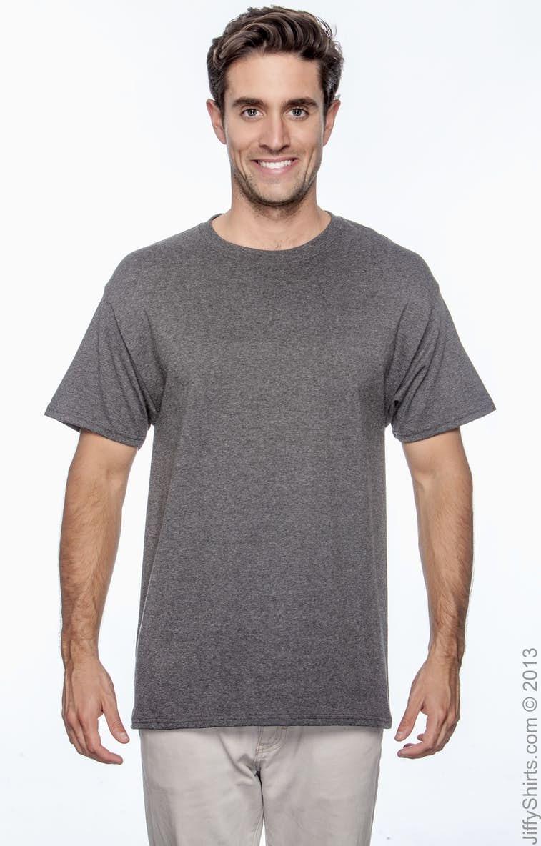 bb29f8ee Champion T525C Adult 6 oz. Short-Sleeve T-Shirt - JiffyShirts.com