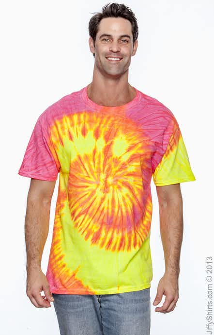 Tie-Dye CD100 Fluorescent Swirl