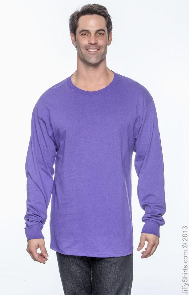 Hanes 5586 Purple