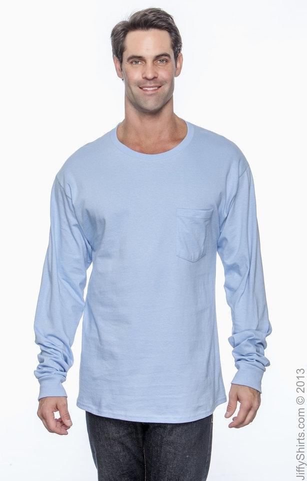 Hanes 5596 Light Blue