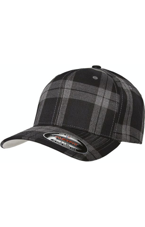 Yupoong 6197 Black/Gray