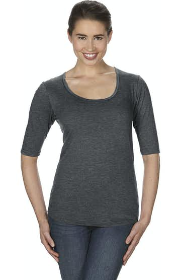 Anvil 6756L Heather Dark Grey