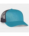 Pacific Headwear 0104PH Panther Teal/Charcoal