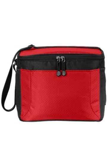 Port Authority BG513 Red / Black