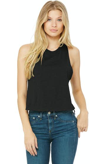 Bella + Canvas 6682 Solid Black Blend