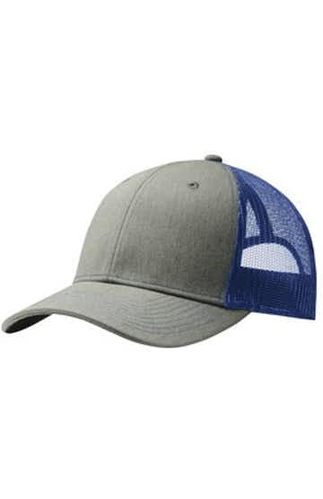 Port Authority C112 Heather Gray / Pa Blue