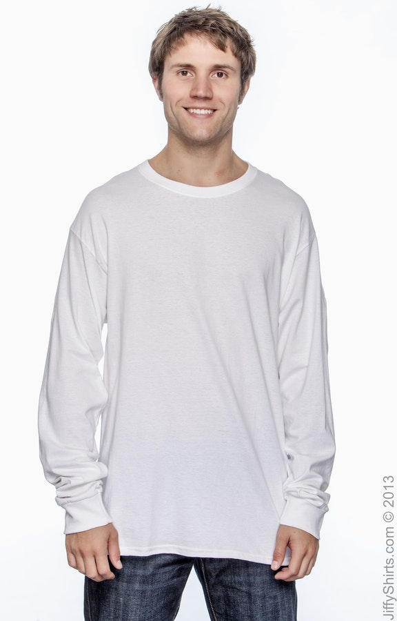 Hanes 5286 White