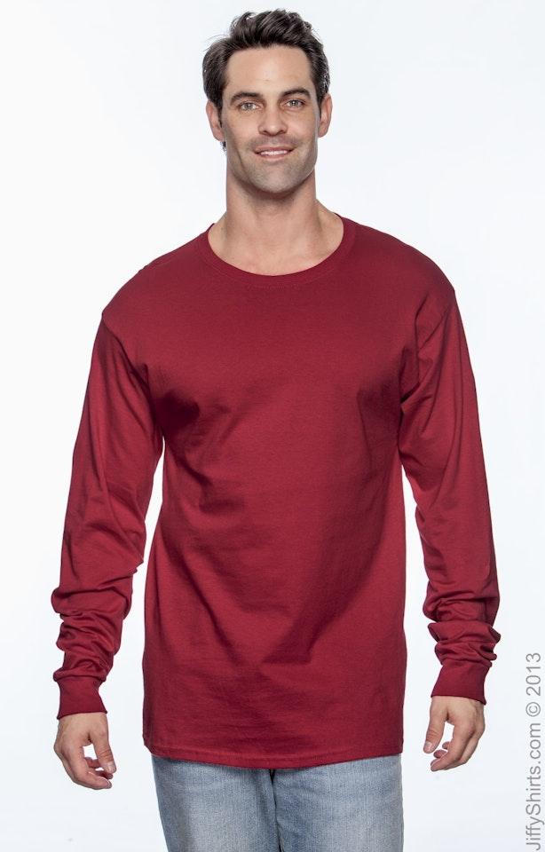 Hanes 5286 Deep Red
