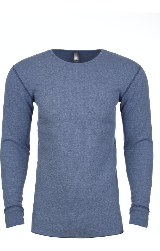 Heather Blue Long Sleeve Thermal