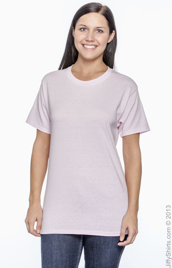 Hanes 5170 Pale Pink