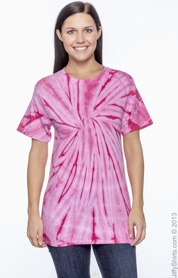 Tie-Dye CD101 Spider Pink