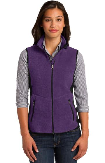 Port Authority L228 Purple Heather / Black
