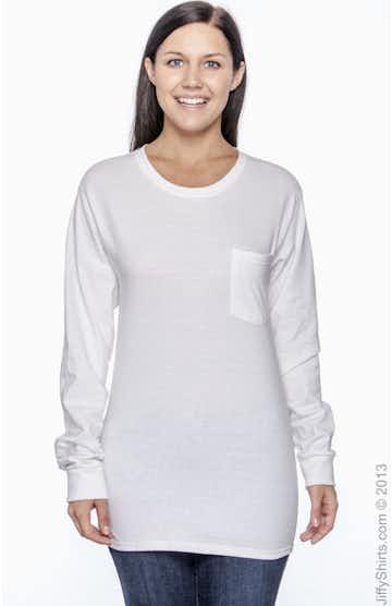 Hanes 5596 White