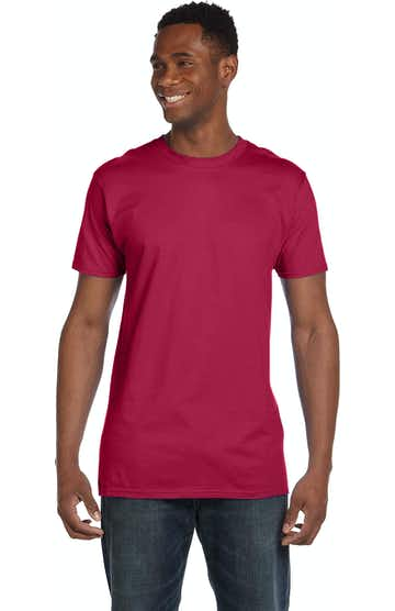 Hanes 4980 HEATHER RED
