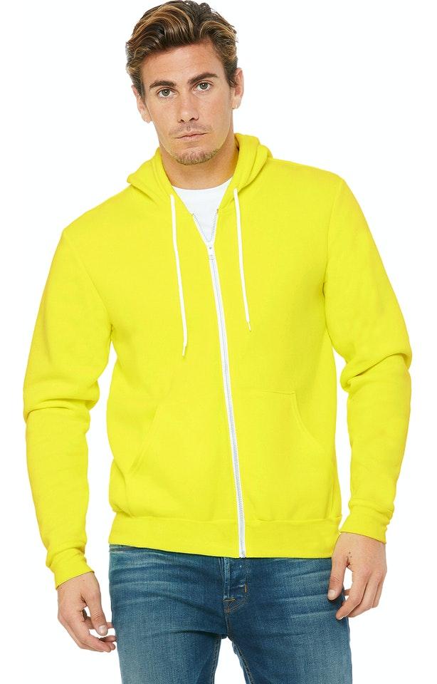 Bella + Canvas 3739 Neon Yellow