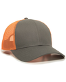 Outdoor Cap OC770 Charcoal / Neon Orange