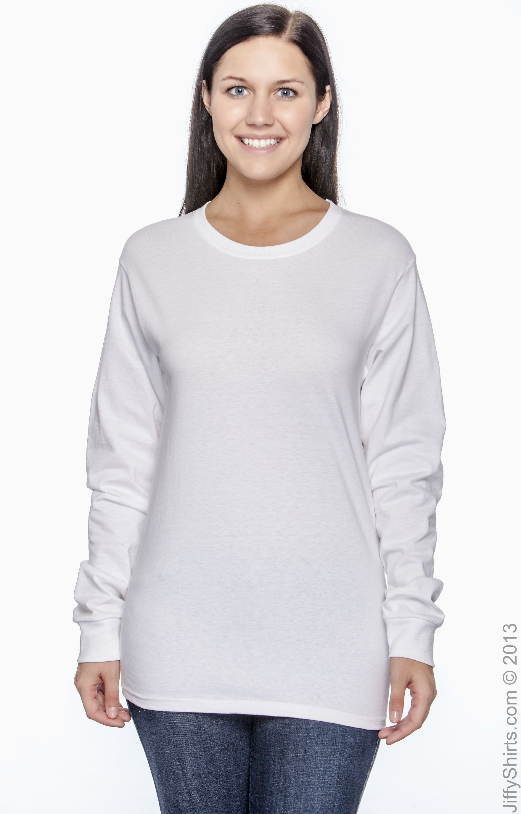 Hanes 5586 White