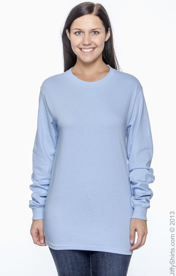 Hanes 5186 Light Blue