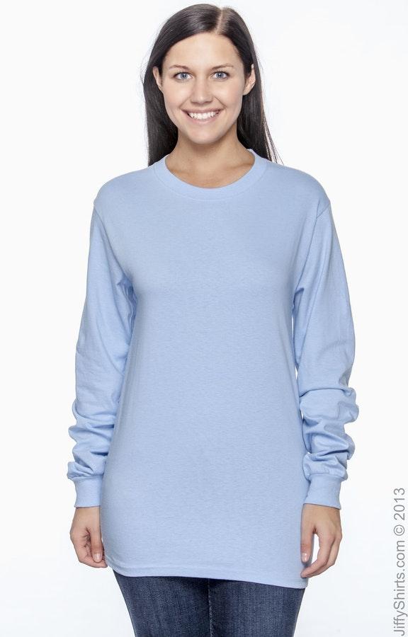 Hanes 5186 Light Blue
