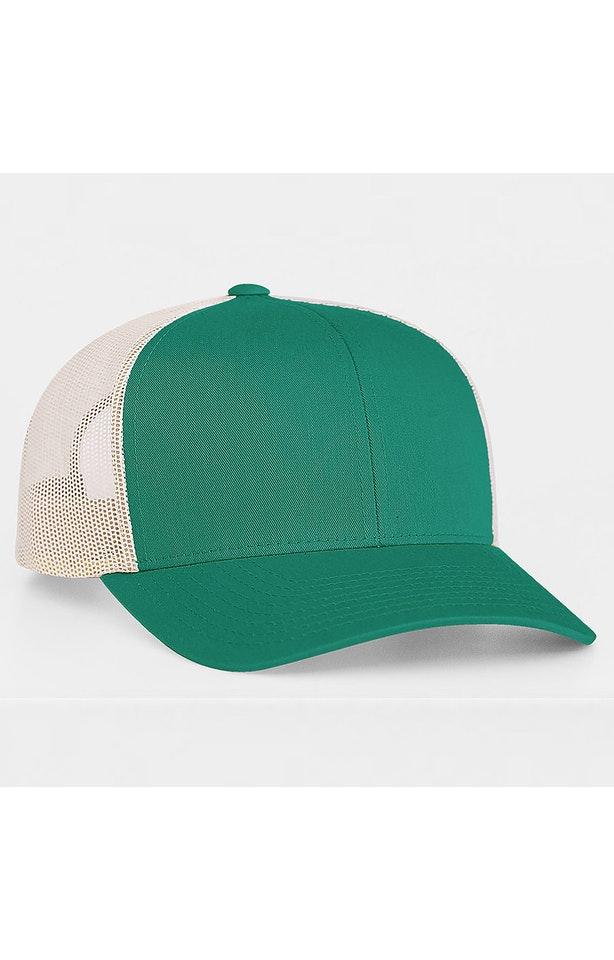 Pacific Headwear 0104PH Jaguar Teal/Beige