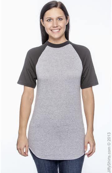 Augusta Sportswear 423 Athletic Heather/Black