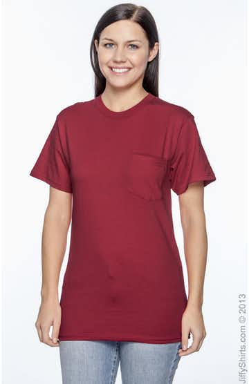 Hanes H5590 Deep Red