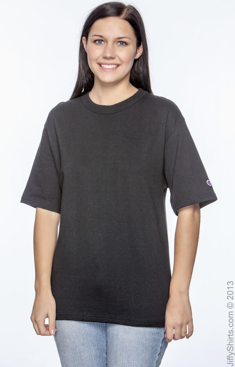 382f2b93 Champion T2102 Adult 7 oz. Heritage Jersey T-Shirt - JiffyShirts.com
