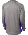 Sport-Tek ST361LS Vintage Heather / Purple