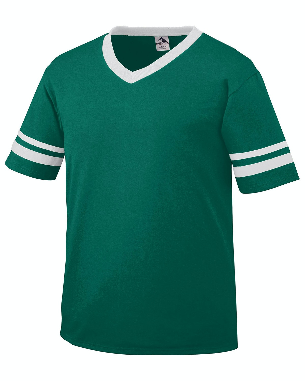 Augusta Sportswear 361 Dark Green/White