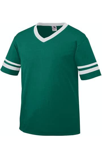 Augusta Sportswear 361 Dark Green / White