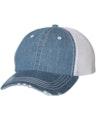 Mega Cap 6990B Blue Denim / White