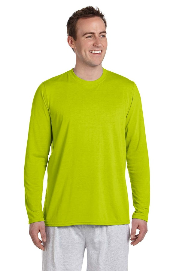 Gildan G424 High Viz Safety Green