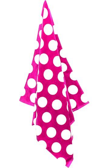 Carmel Towel Company C3060 Perfect Pink Polka Dot