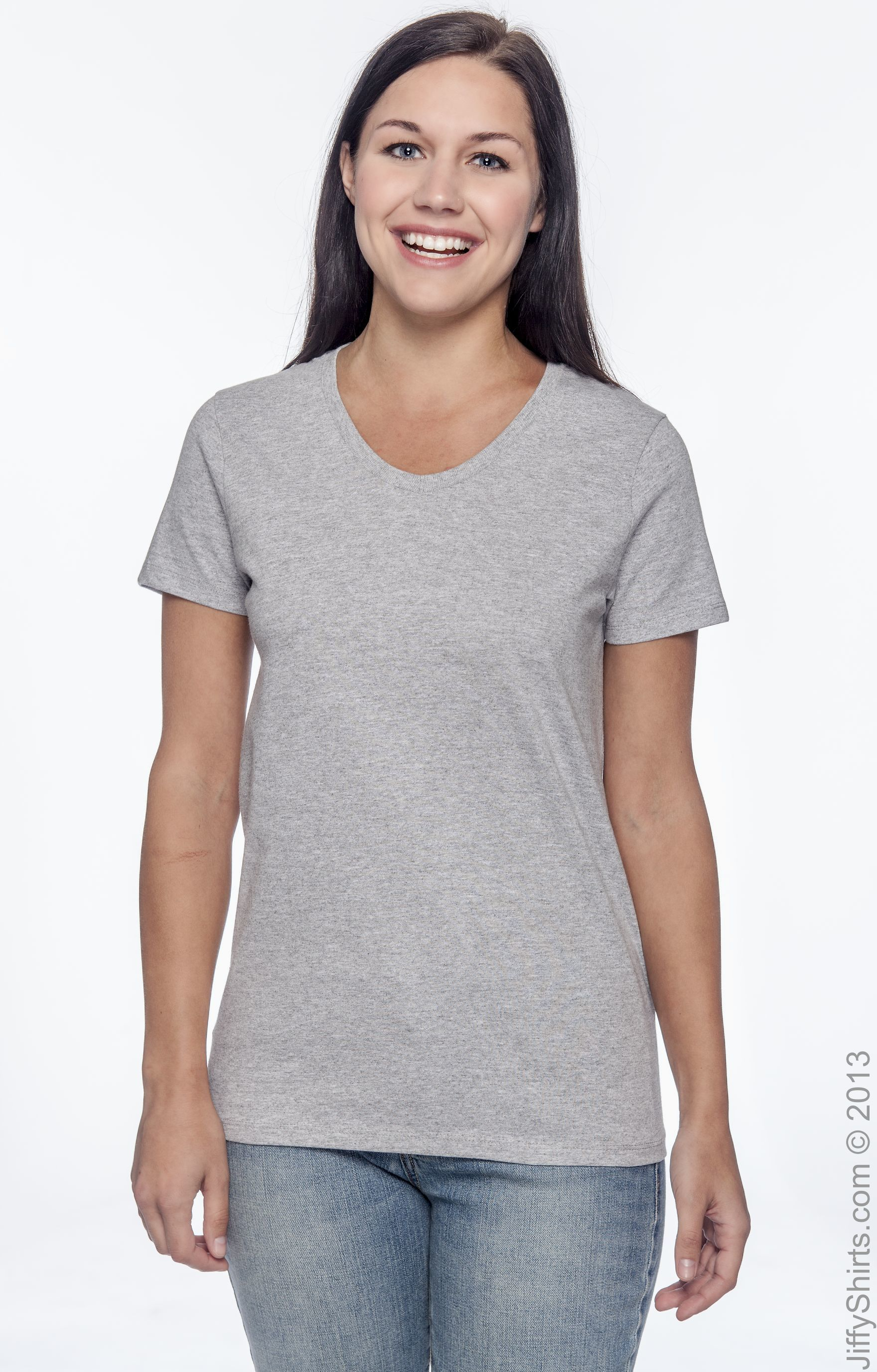 Hanes Ladies ComfortSoft V-Neck Short Sleeve T-Shirt Women/'s S M L XL 2XL  5780