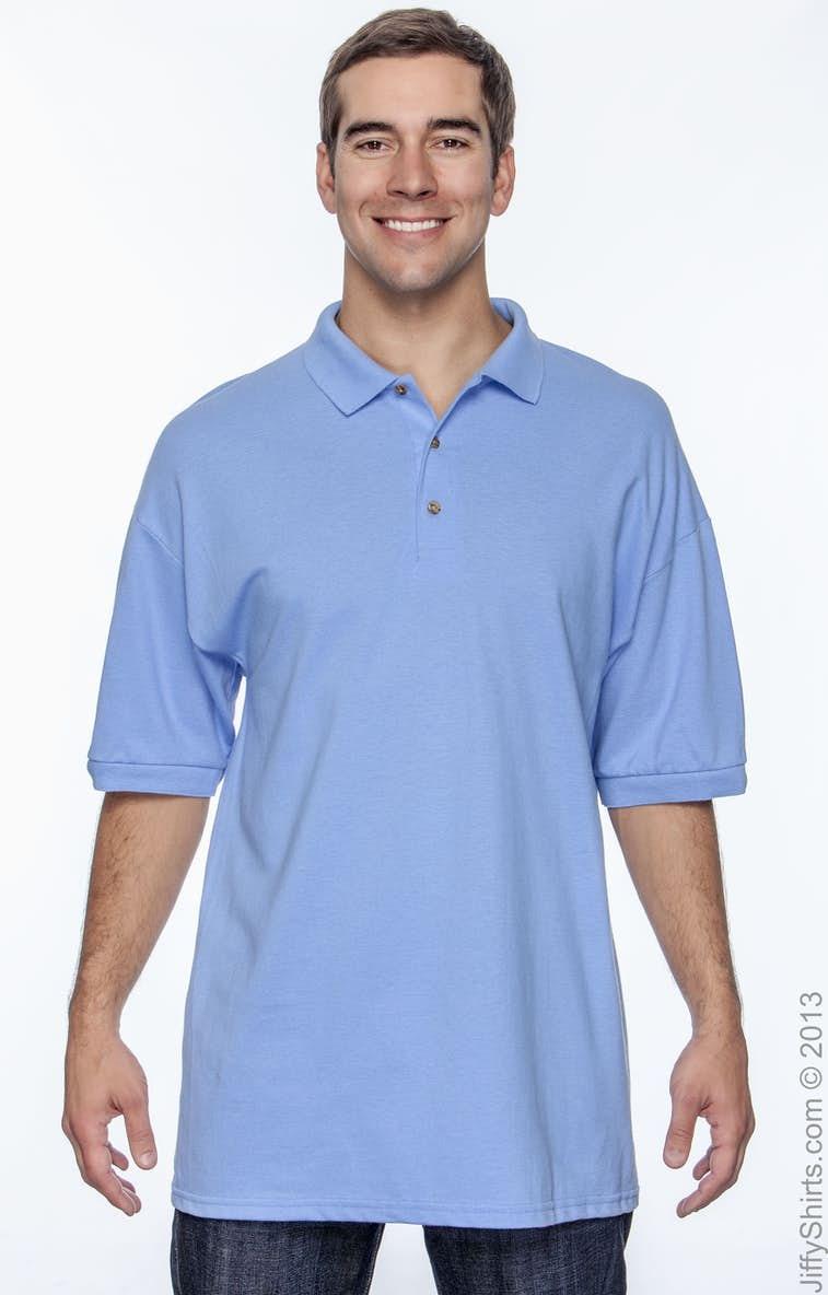 3e149d77 Gildan G380 Adult Ultra Cotton® Adult 6.3 oz. Piqué Polo - JiffyShirts.com