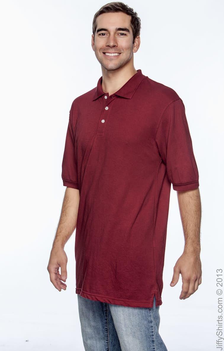 a80e8222 Harriton M265 Men's 5.6 oz. Easy Blend™ Polo - JiffyShirts.com