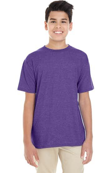 Gildan G645B Heather Purple