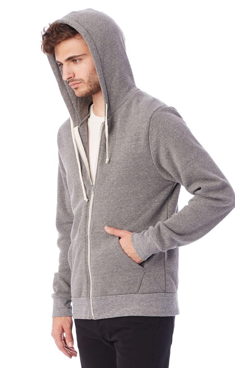 0b9ebef6 Alternative AA9590 Unisex Rocky Eco-Fleece Zip Hoodie - JiffyShirts.com