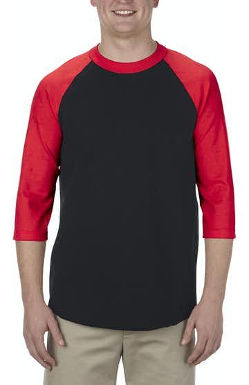 Alstyle AL1334 Black/ Red
