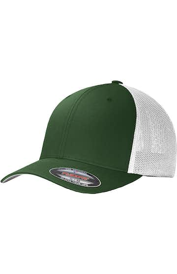 Port Authority C812 Forest Green / White