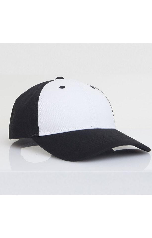 Pacific Headwear 0101PH White/Black