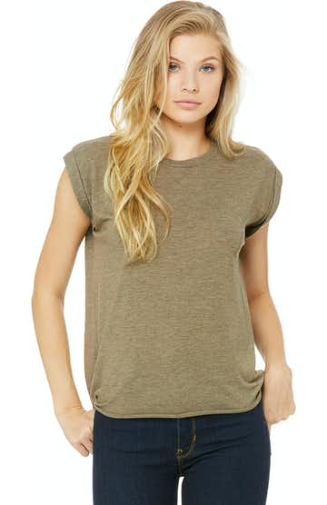 Bella + Canvas 8804 Heather Olive