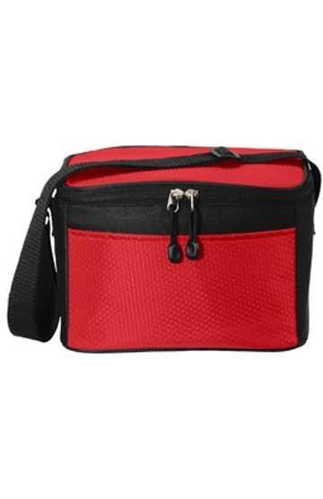 Port Authority BG512 Red / Black