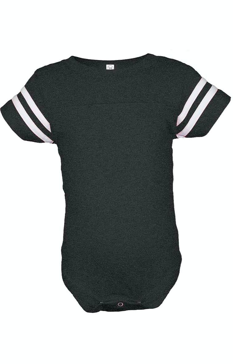 ca449287d1b Rabbit Skins 4437 Infant Football Fine Jersey Bodysuit - JiffyShirts.com