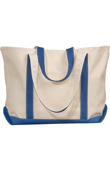 Liberty Bags 8872 Natural/Royal