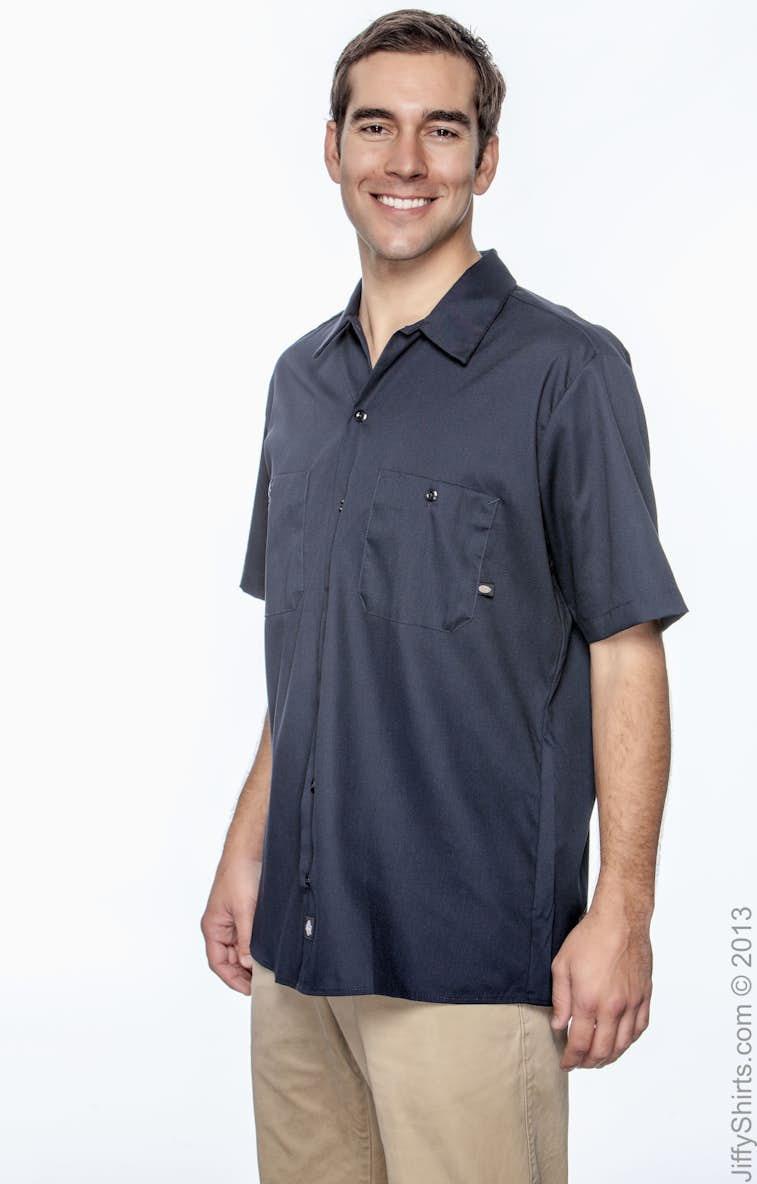 2d1cefeee0b Dickies LS535 Men s 4.25 oz. Industrial Short-Sleeve Work Shirt ...
