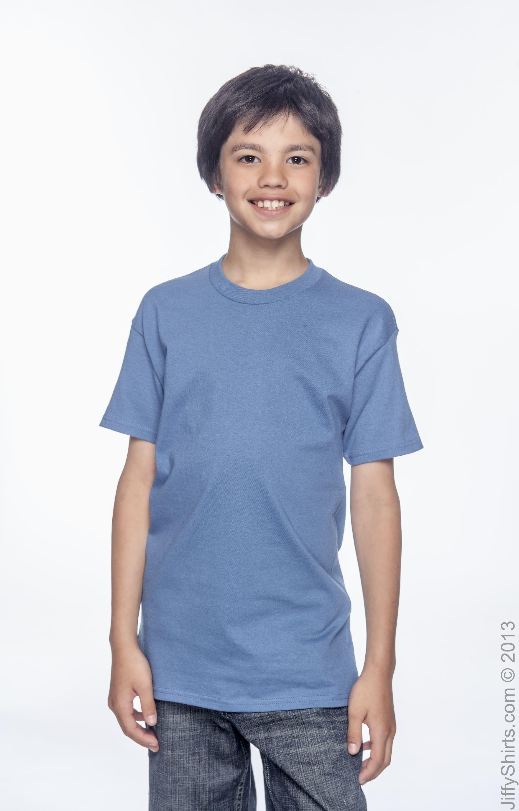 Hanes 54500 Denim Blue
