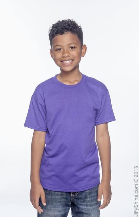 Hanes 5370 Purple