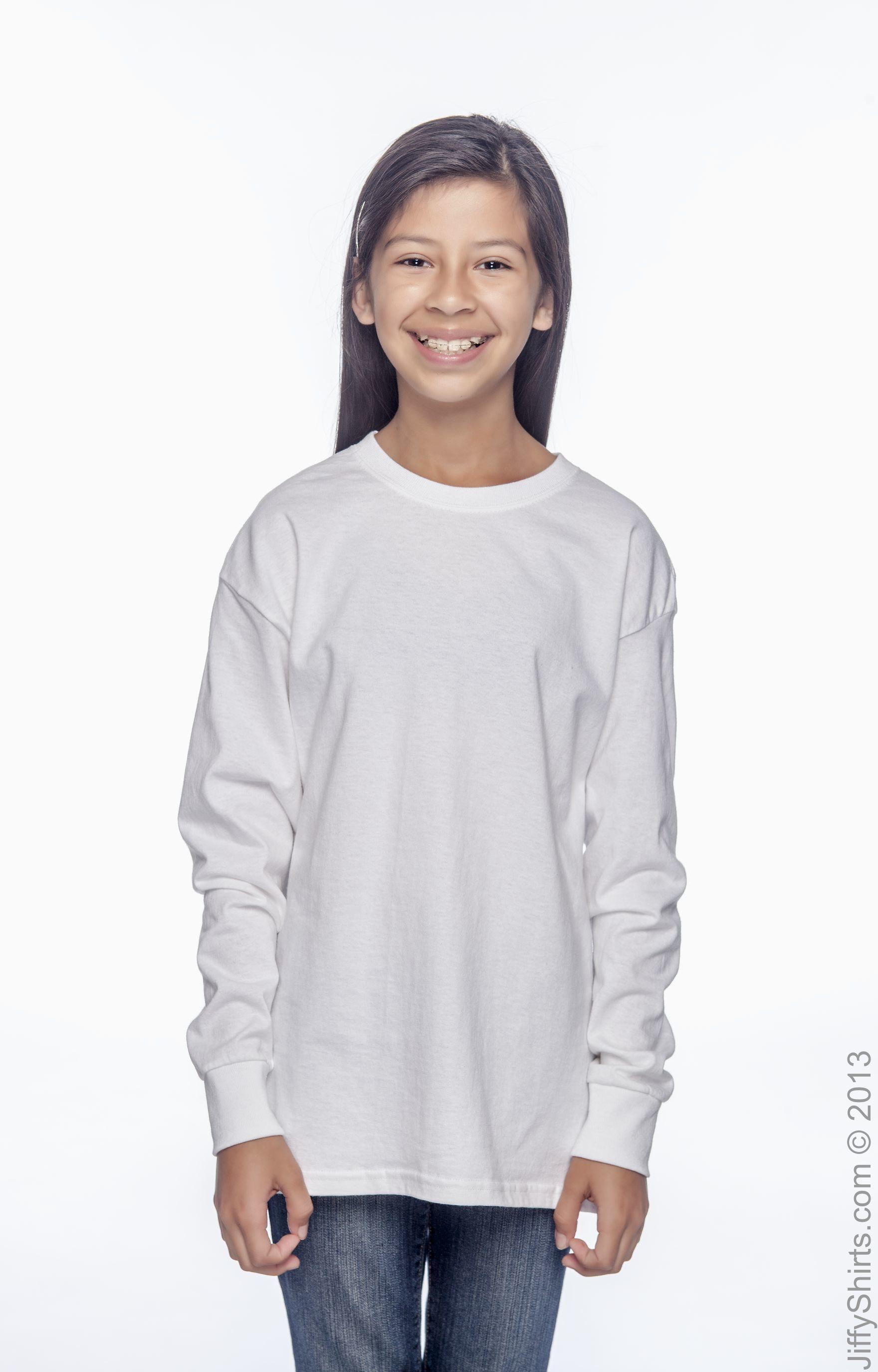 Hanes 5546 White